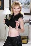 Grandma lynn is doing a striptease