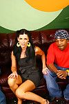 Gorgeous india summer taking a black dick in front of her son