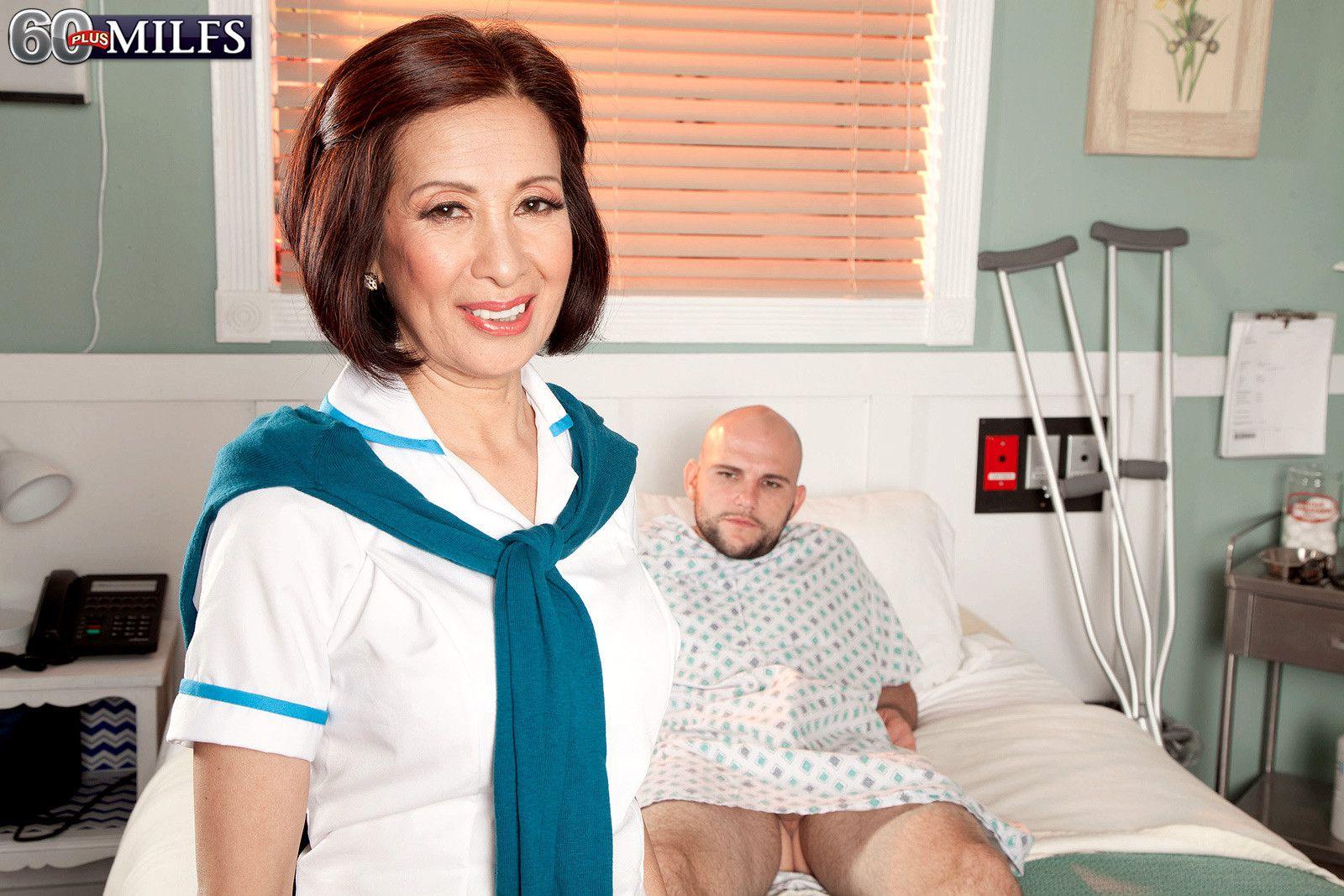 Mature Nurse Fucks 13
