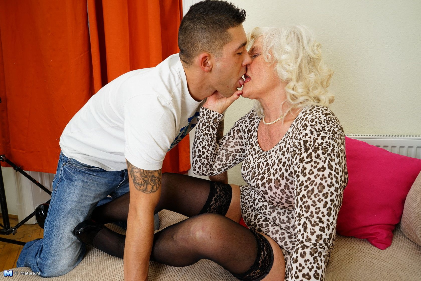 Agedlove nice blonde granny is fucked by horny man 3
