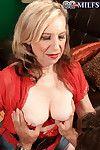Sexy blond grandma miranda torri doing a young dick