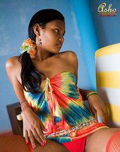 Seductive dark skinned Indian teen in most cases covers nipples