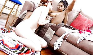 Interracial homoerotic sex with young amateur girls Kiki with the addition of Ren