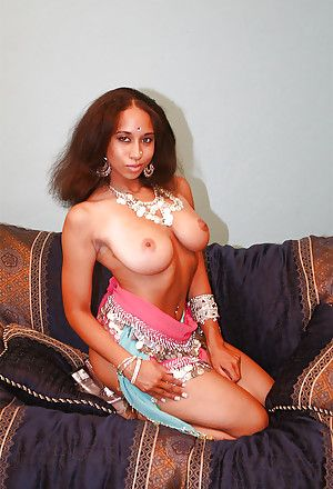 Fuckable indian MILF discovery will not hear of heavy gut increased by erotic ass