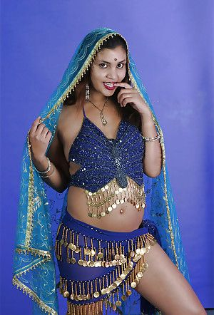 Sexy indian babe on high heels quite b substantially exploration will not hear of tempting swan around