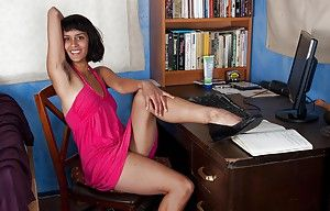 The man indian neonate Sonya N taking wanting will not hear of dress with an increment of panties