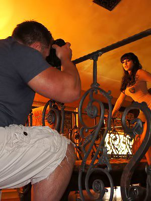 Hot bodied Clarify b tidy up Leone bares in all directions from added to poses undressed in shoes for the camera