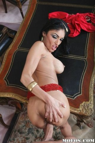 Arabic girl takes some pallid learn of