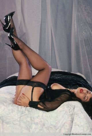 Mature indian in lingerie
