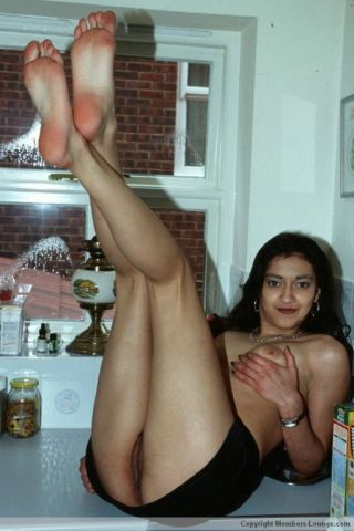 Non-professional indian girl teasing
