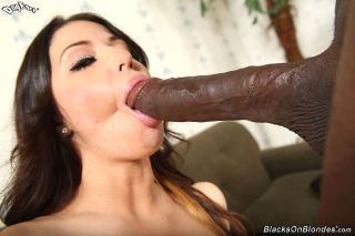 Mia gold enjoys a black dick perfectly for say no to holes