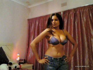 Freakish indian amateur dame displaying her big relating to titties