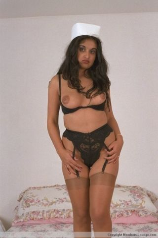 Indian nurse babe chaff