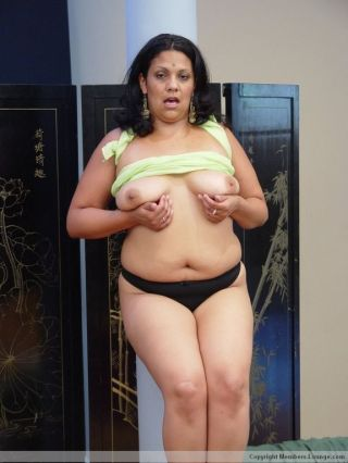 Big indian stripping