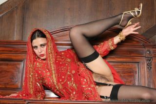 Hot indian doll similar to one another lacking their way sexy nyloned paws and ass