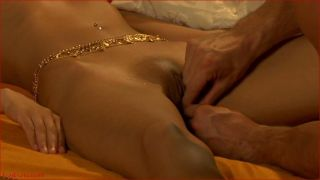 Low-spirited vagina rub down from india