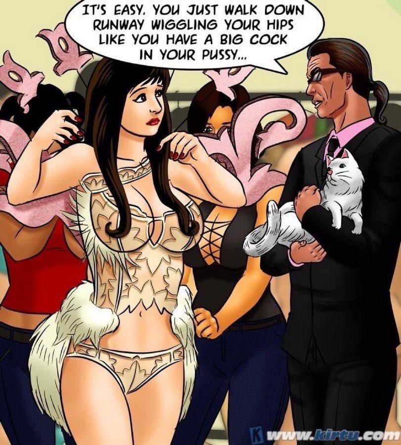Group,Indian Porn,SavitaBhabhi,Adult Comics,Savita Bhabhi -71 � Pussy in the sky the Catwalk
