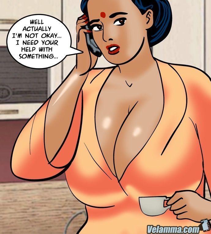 Big Boobs,Blowjob,Indian Porn,Velamma,Adult Comics,Velamma Episode 64- Blackmailed 2