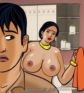 Fat Boobs,Blowjob,Indian Porn,Slut,Adult Comics,Velamma 61 � Naked Cleaning