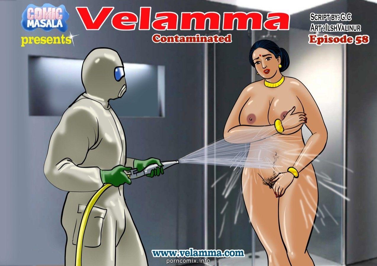 Big Boobs,Indian Porn,Velamma,Adult Comics,Velamma 58- Crummy