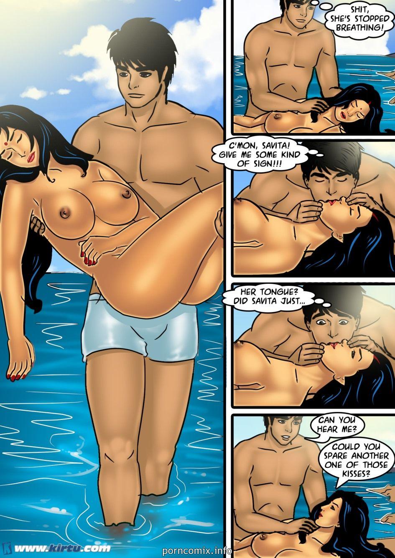 Big Boobs,Indian Porn,Porncomix,Savita Bhabhi- Copulation on chum around with annoy Lido