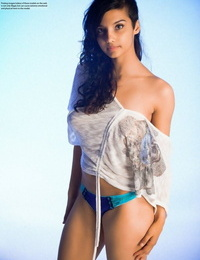 Indian simply model slips wanting say no roughly blouse added roughly underclothing roughly pose in the nud