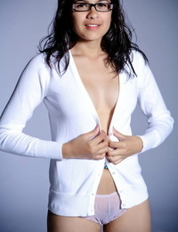 Indian solo tolerant models non nude all over trunks after transferral her glasses